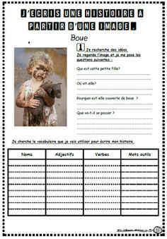 Learn French For Kids Free Printable Printer Projects New York French Flashcards, French Worksheets, French Teacher, Teaching French, Writing Strategies, Writing Activities, Core French, French Education, French Classroom