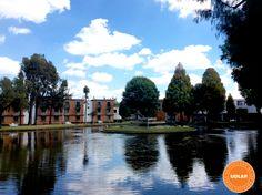 Una excelente tarde para disfrutar de nuestro #lago #UDLAP