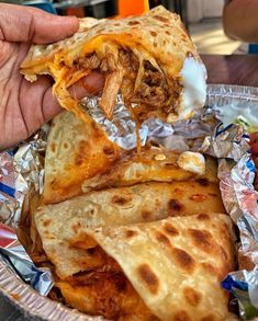 At Cafe Rio Mexican Grill, we take the time to make our tortillas from scratch, creating delicious quesadillas from the outside, in. I Love Food, Good Food, Yummy Food, Tasty, Yummy Yummy, Comida Disney, Food Obsession, Food Goals, Aesthetic Food