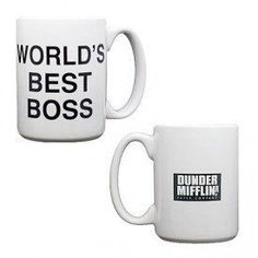 Dunder Mifflin World's Best Boss Coffee Mug