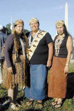 [Three Karuk women] Lena Bommelyn, Pimm Allen and Lyn Risling