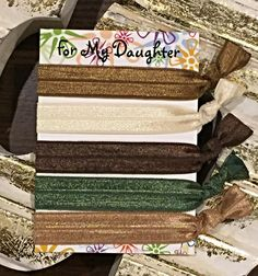 Mother Nature Solids 5 Pack of Elastic Hair by ForMyDaughter114