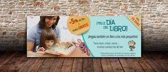 Diseño de banner Día del Libro 2015 | Dolphin Tecnologías