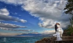 Wedding day photo shoot - after day - Kalamata by the sea