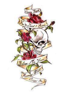 My chemical romance tattoo idea ❤️