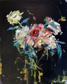❀ Blooming Brushwork ❀ - garden and still life flower paintings - Carmelo Blandino | Opus VI