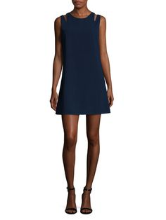 Alex   Alex by {1} at Gilt 89.99 Alex + Alex Shoulder Cut Out Shift Dress