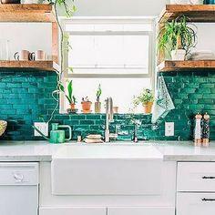 F R E E  S H I P P I N G  T O D A Y   5 Kitchens that will inspire you on the blog #kitchen #kitcheninspo #homewares #interiors #furniture #furnitureinspo #timber