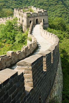 Interesting Great Wall of China - http://www.travelandtransitions.com/destinations/destination-advice/asia/