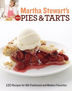 Martha Stewart's New Pies & Tarts is our choice of cookbook for the October Cookbook Book Club. Pick up a copy today and join us on October 2 at 7pm to talk about the book and the recipes.