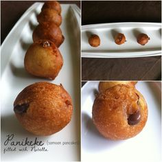 Panikeke (Samoan Pancakes) filled with Nutella defiantly want to make these