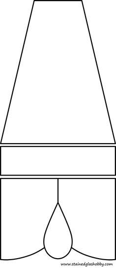 3d lantern free design