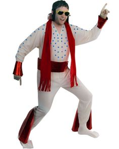 How to make an Elvis Jumpsuit costume