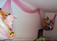 Stuffed Animal Hammock | Pinvested