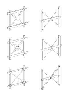 Timber Structure, Building Structure, Timber Architecture, Architecture Details, Diy Pergola Kits, Joinery Details, Diy Inspiration, Wood Detail, Wood Stone