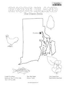 Oregon coloring page- United States coloring pages | Teaching ...