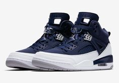 #sneakers #news  Jordan Spiz'ike In White/Navy Coming Soon