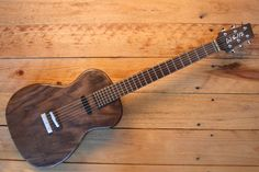 Poorboy Electric Guitar: American Handmade by WeirGuitars on Etsy