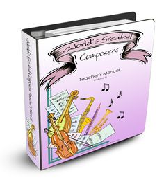 Welcome to the World's Greatest Composers Study Volume 1! Get the World's Greatest Composers Study!  What's it all about? In this series of studies, we will be taking a look at 8 of the world's greatest composers through a study designed for elementary aged students. The goal behind the World's Greatest Composers curriculum is to immerse students in the…