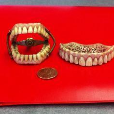50 Best Antique false teeth images in 2019 | Teeth, Dental