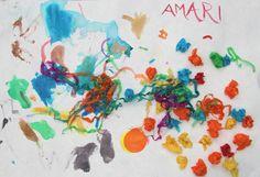 Amari, 3 - preschool artwork