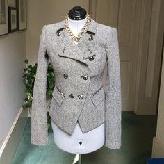 Tailored Rachel Zoe Tweed Jacket on Poshmark