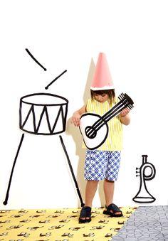 Marni Kids on Style Piccoli    illustratzioni Silvia Gherra   silosilo studio