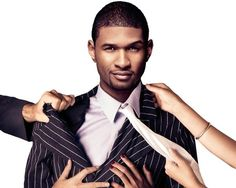 Let me introduce you to my husband, Usher. And no, I don't mind that he dresses better than me.