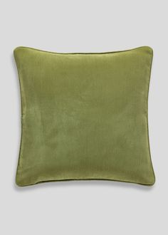Velour Cushion (46cm x 46cm) - Matalan