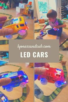[Ad] These battery-driven, lit-up race cars take off like crazy. Watch my son playing with them on his race track. He has a dump truck, a fire engine, a bus, and a police car. Police Cars, Race Cars, Dump Truck, Fire Engine, Toddler Toys, Light Up, Engineering, Track, Racing