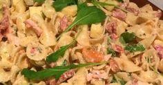 Lekker eten met Marlon: Koude pastasalade met kip, appel, noten en veel meer lekkers