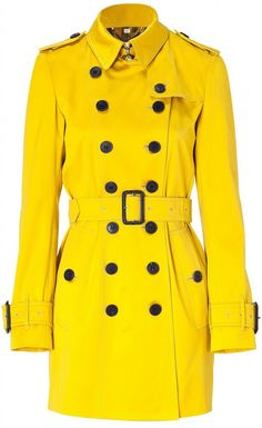 A thousand times yes to this Yellow Trench.
