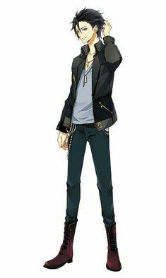 Tsukiuta: The Animation Hajime Hot Anime Boy, Anime Sexy, Anime Boys, Anime Sensual, Cool Anime Guys, Chica Anime Manga, Manga Boy, Kawaii Anime, Anime Art