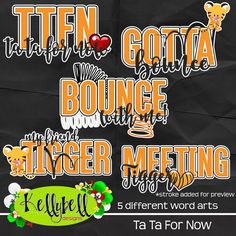 Ta Ta For Now – Kellybell Designs