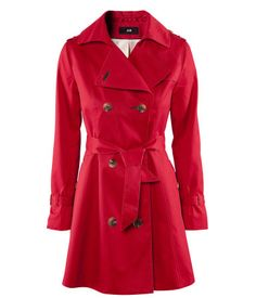 Trenchcoat ($49.95) via H&M. Because sometimes I desperately need to feel like Carmen Sandiego!