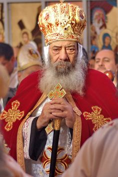 Coptic Christian Pope Shenouda III