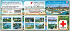 Carnet de timbres Les petits ruisseaux font les grandes rivières. © Isy Ochoa pour La Poste.