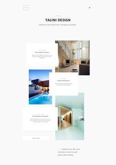 Full-size . website . overlaying elements . dinamic grid . minimal . clena. layout inspiration