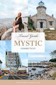 Vacation Places, Vacation Destinations, Places To Travel, Places To Go, Vacation Ideas, Vacations, East Coast Travel, East Coast Road Trip, Mystic Connecticut