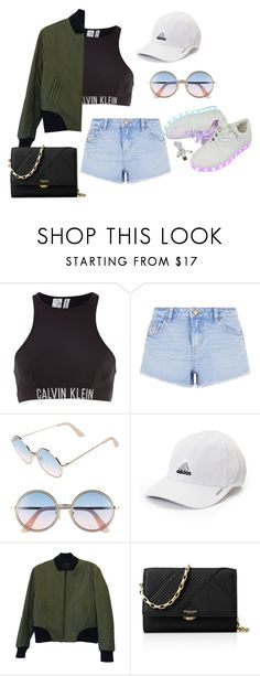 """You deserve unconditional love"" by noora-j ❤ liked on Polyvore featuring Calvin Klein, New Look, Sunday Somewhere, adidas, rag & bone and Michael Kors"