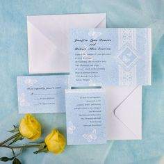 If you are a fan of shades of blue and want to incorporate use some shades of blue throughout the big day. Check out the seven most inspiring blue wedding color palette ideas bellow and we for sure your will get most. Invitation Card Design, Wedding Invitation Design, Invitation Cards, Invites, Scroll Wedding Invitations, Wedding Colors, Wedding Blue, Wedding Ideas, Wedding Themes