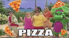 Prepárate para salivar! Acaban de crear una caja de pizza hecha de pizza y con una pizza adentro
