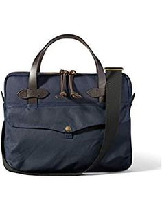 Filson Unisex Tablet Briefcase Navy. * Click image to review more details. (This is an affiliate link) Best Handbags, Fashion Handbags, Briefcases, Unisex, Navy, Link, Image, Fashion Design, Shoes