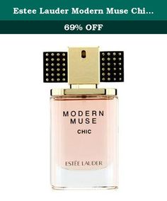 Estee Lauder Modern Muse Chic Eau De Parfum 1.0 Oz Spray. A floral woody musk fragrance for modern women Fresh, spicy, creamy, warm & voluptuous Top notes are plum & artemisia Middle notes are jasmine sambac, tuberose & lily Base notes are cashmere wood, agarwood, labdanum, patchouli, ebony tree, musk, Madagascar vanilla & suede Launched in 2014 Recommended for evening or colder seasons wear.