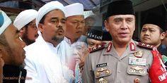 Berita Harian Terupdate: Kapolda Metro beri peringatan keras untuk Habib Ri...