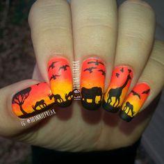 Sunset Safari by Selena  Lopez