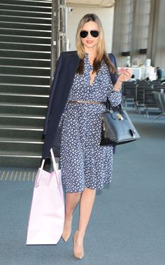 Miranda Kerr was spotted out and about in Japan earlier today, looking perfect as usual!