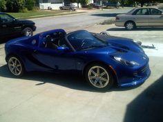 Lotus Elise Convertible Blue
