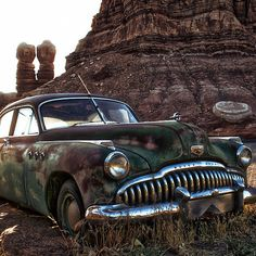 """Used Buick"" by Charlie Bookout - 2012 / digital photography  -  Bluff, Utah"