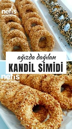 Kandil Simidi - Nefis Yemek Tarifleri Yummy Recipes, No Dairy Recipes, Delicious Desserts, Yummy Food, Vegetarian Recipes, Subway Cookie Recipes, East Dessert Recipes, Dinner Rolls Easy, Breakfast Tea